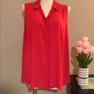 Lane Bryant Sleeveless Shirt